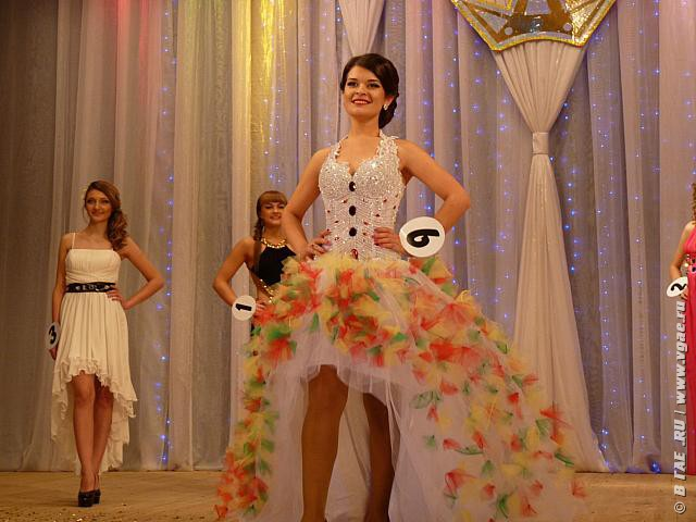 Платье на конкурс мисс осени