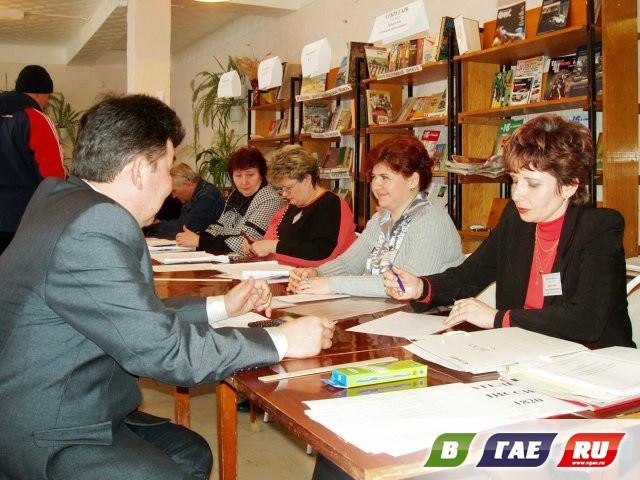 Центр избирательного участка