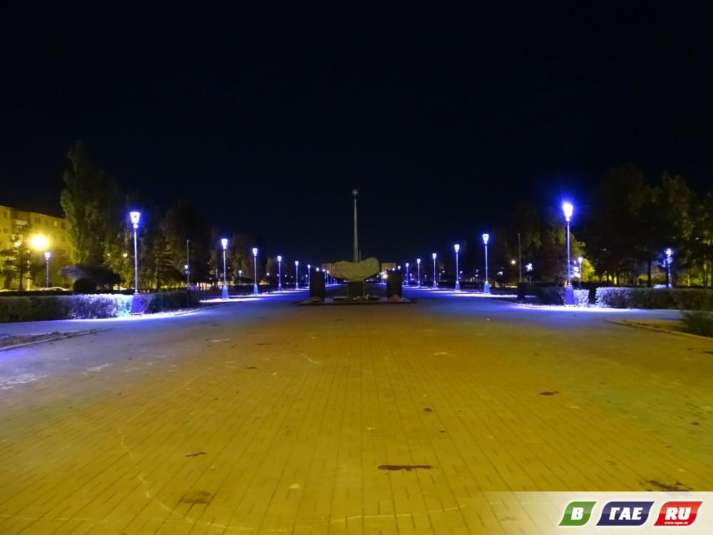 Красота ночного бульвара
