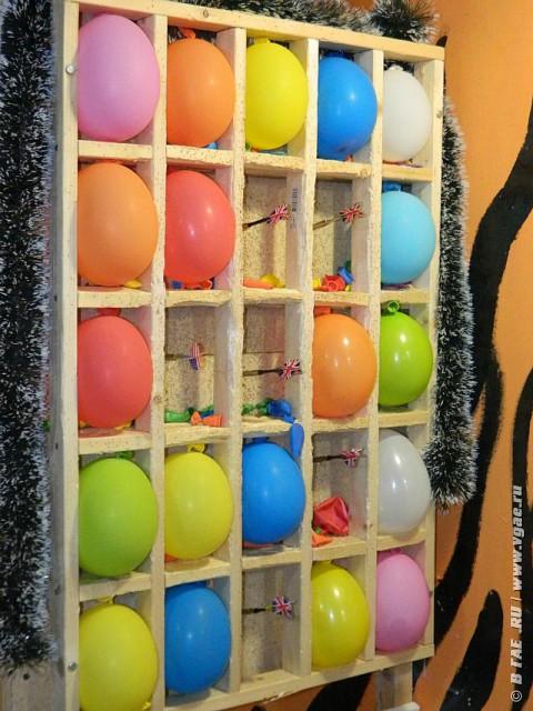 Тир попади яйцом