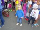 Маленькие гайчане развлекались в сквере