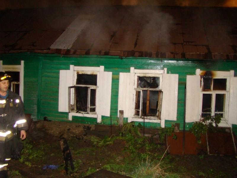 Пожар унёс жизни матери и сына