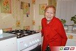 Марфе Дмитриевне подарили газовую плиту
