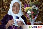В крещенские морозы 104-летняя Кайша отправилась в дорогу