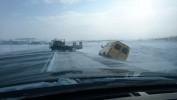 Видимость на трассе Гай-Орск практически отсутствует