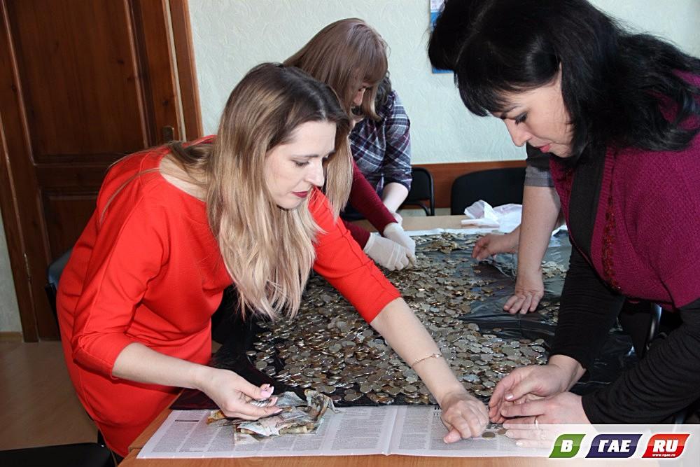 В «копилке счастья»  оказалось 15 072 рубля