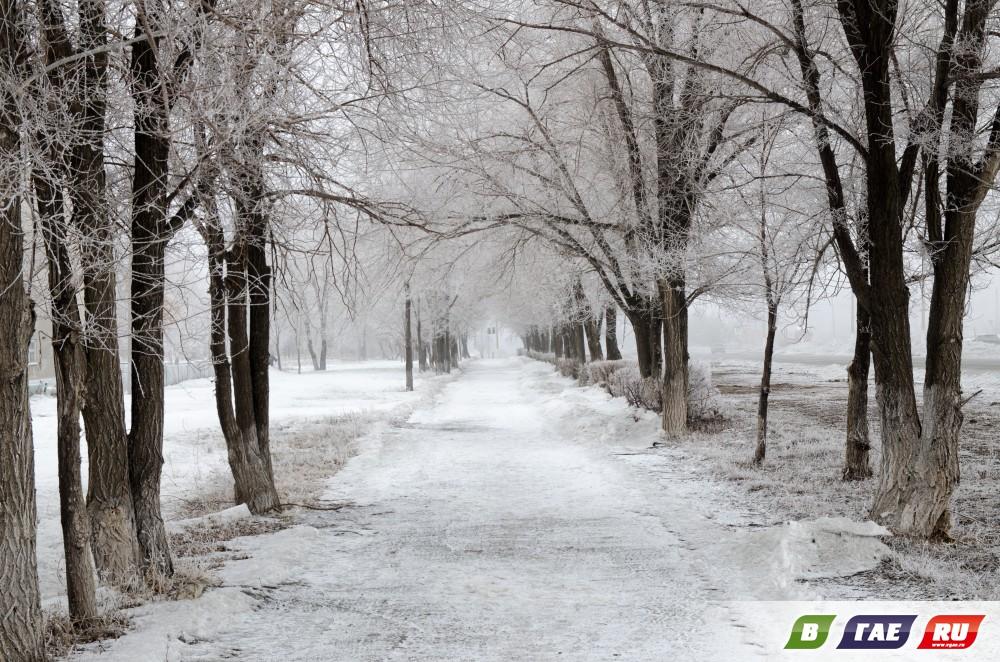 Весенне-зимний Гай от Юрия Гутмана
