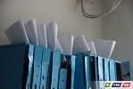 Почтовые ящики разбиты,  деформированы