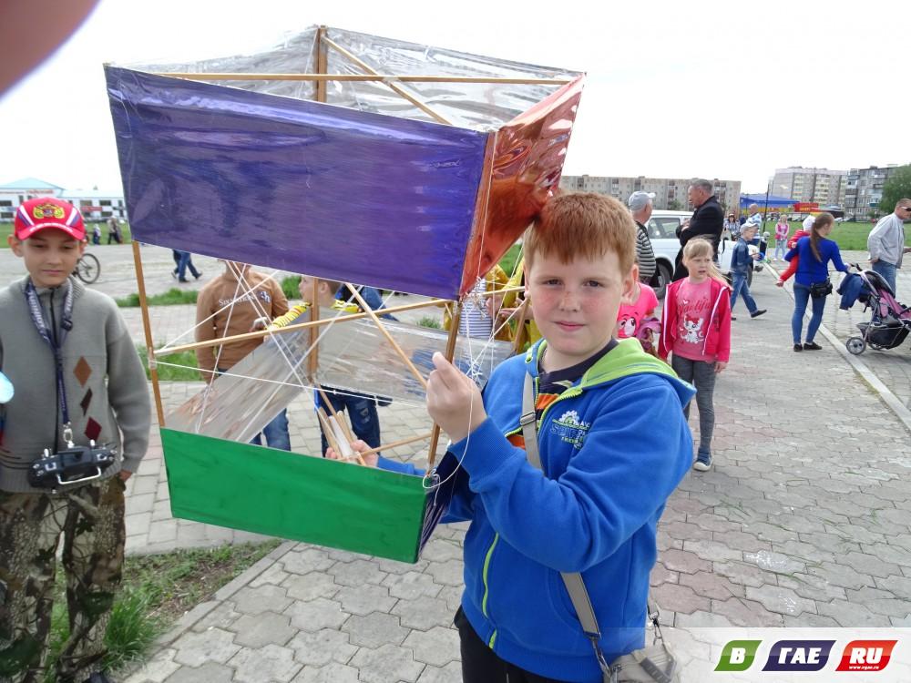 Состоялся Фестиваль воздушных змеев