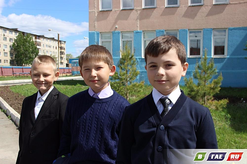 Школы №6 и №8 : трель последнего звонка