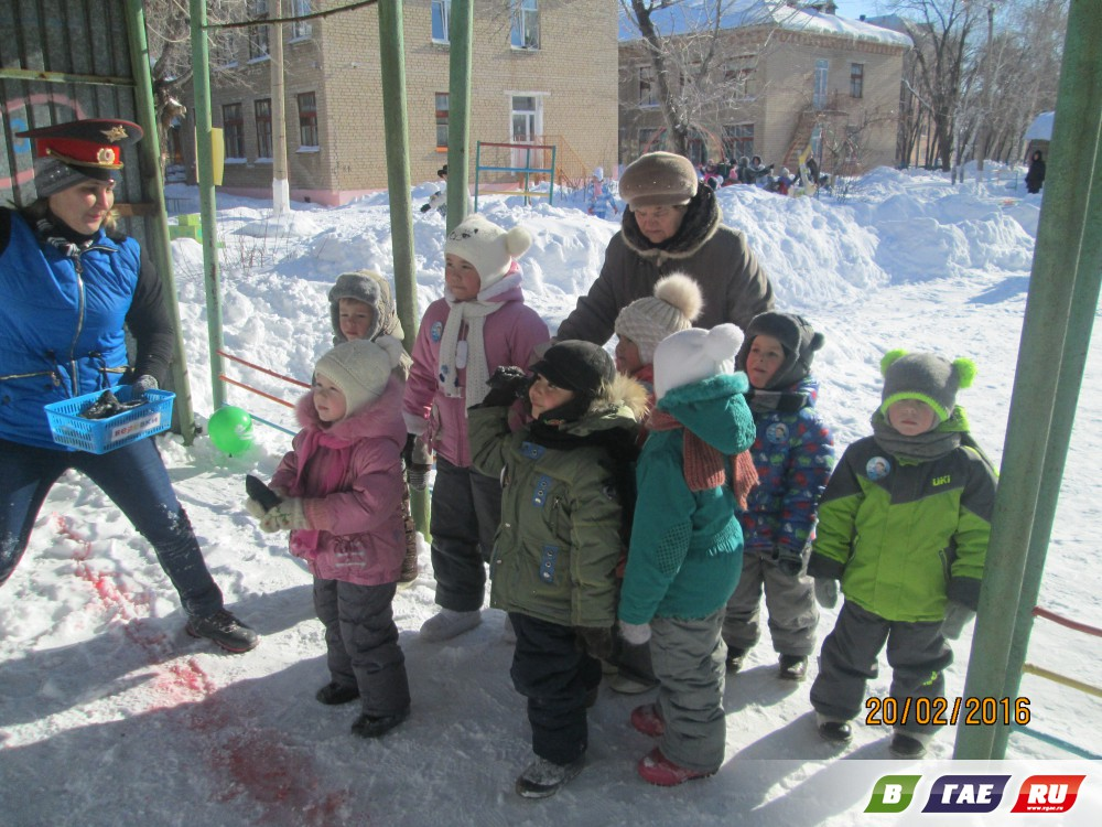 Родители благодарят работников детского сада № 14