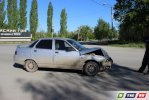На Орском шоссе  разбились 2 авто