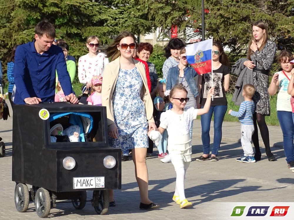 "Состоялся ""Парад колясок"" - 2017"