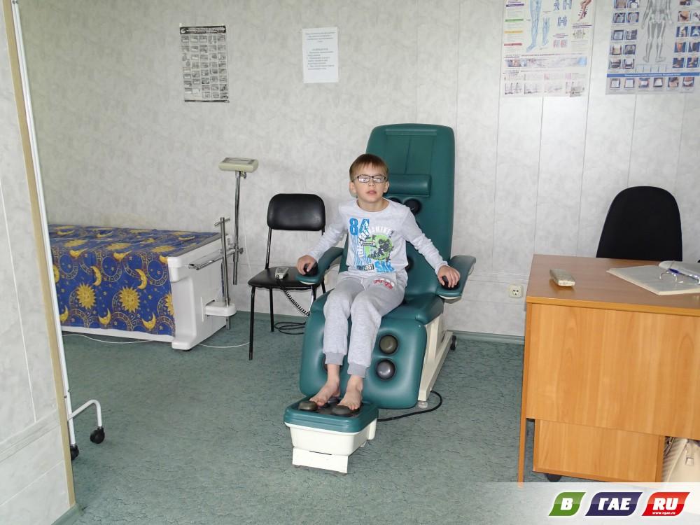 В санатории-профилактории  «Горняк» открылась новая детская площадка
