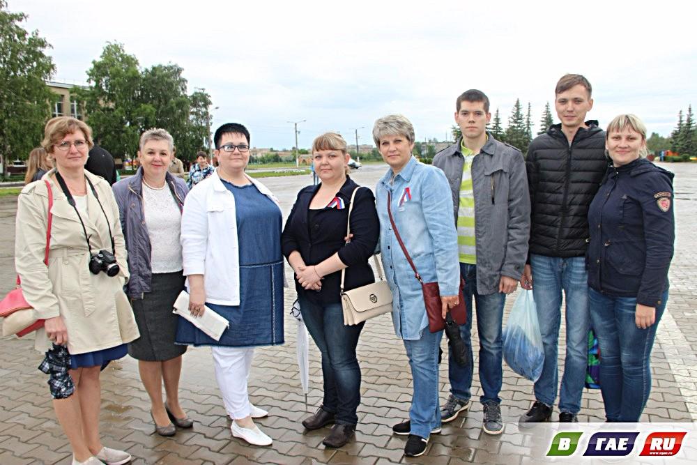 День России. Праздник на площади