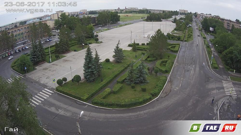 FullHD веб-камера установлена на площади