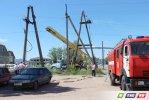 Авария на высоковольтной линии. 2 микрорайона - без электроэнергии