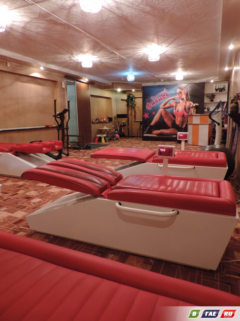 Уникальный дамский фитнес открылся  в Гае