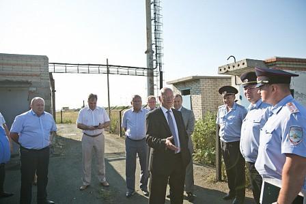 Стационарный пост ДПС на Орской трассе восстанавливают