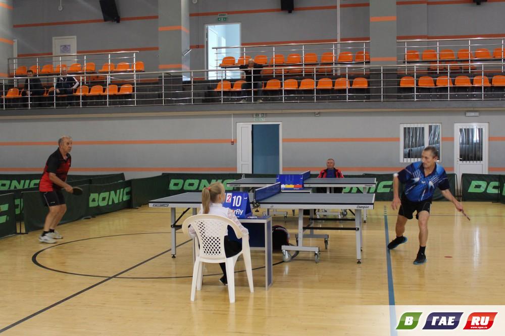 Завершился V турнир по настольному теннису среди ветеранов на призы ПАО «Гайский ГОК»