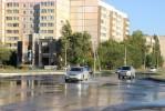 На пр. Победы потоп, лопнула труба холодного водоснабжения