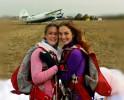 Юбилейный 500-ый прыжок с парашютом гайчанки  Алены Денисовой