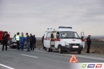 Пассажира Toyota транспортировали  в Орскую больницу