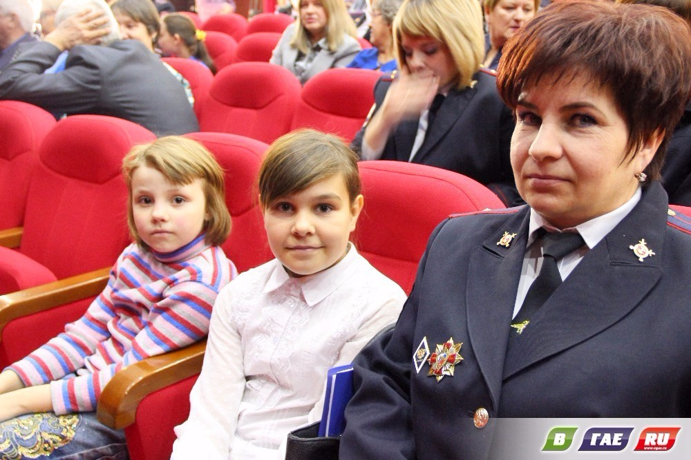 День сотрудника органов внутренних дел. Торжество в ДК Горняков