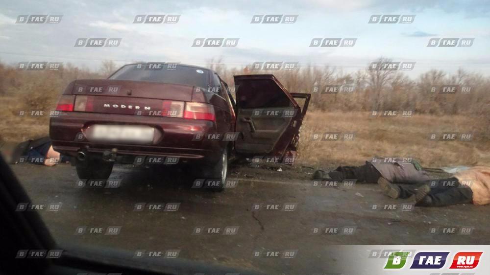 Автомобили столкнулись «лоб в лоб». Четверо погибших