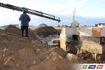 В 8 микрорайоне демонтируют фундамент мечети