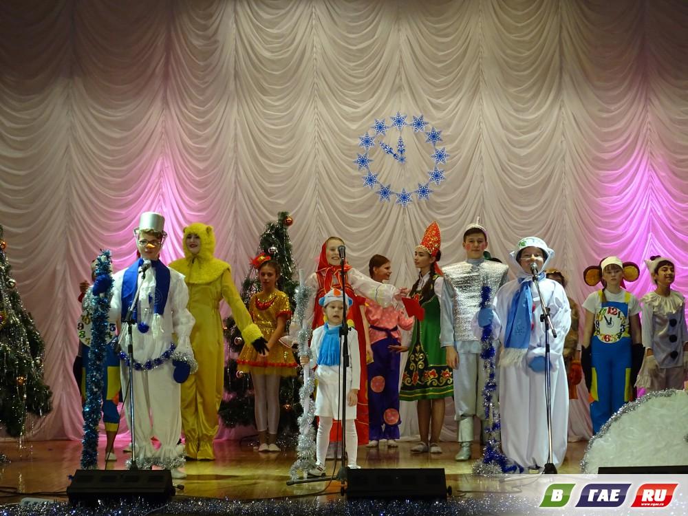В «Радуге» случился Новогодний переполох