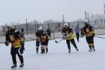 Хоккейная команда «Горняк» провела домашнюю матчевую встречу с командой из Домбаровки