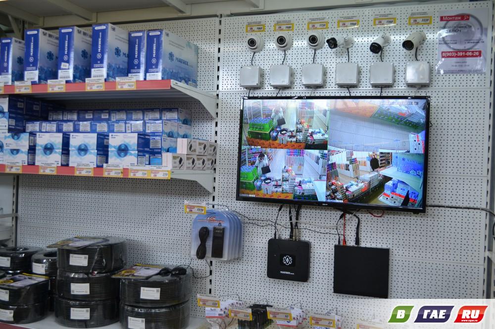 Видеонаблюдение стало доступнее благодаря магазину «Строительный БУМ»