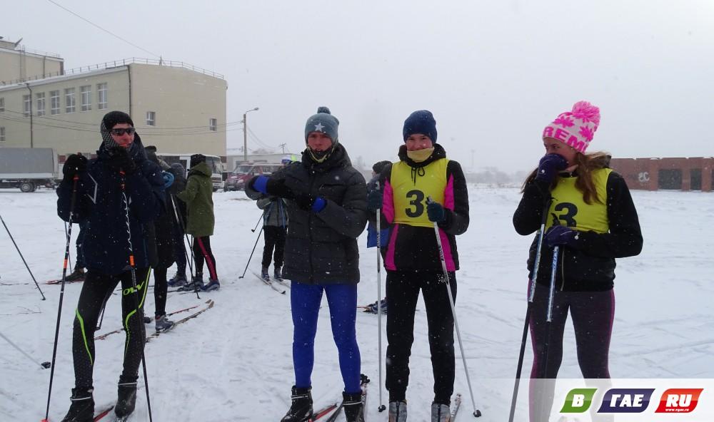 На лыжной трассе было жарко