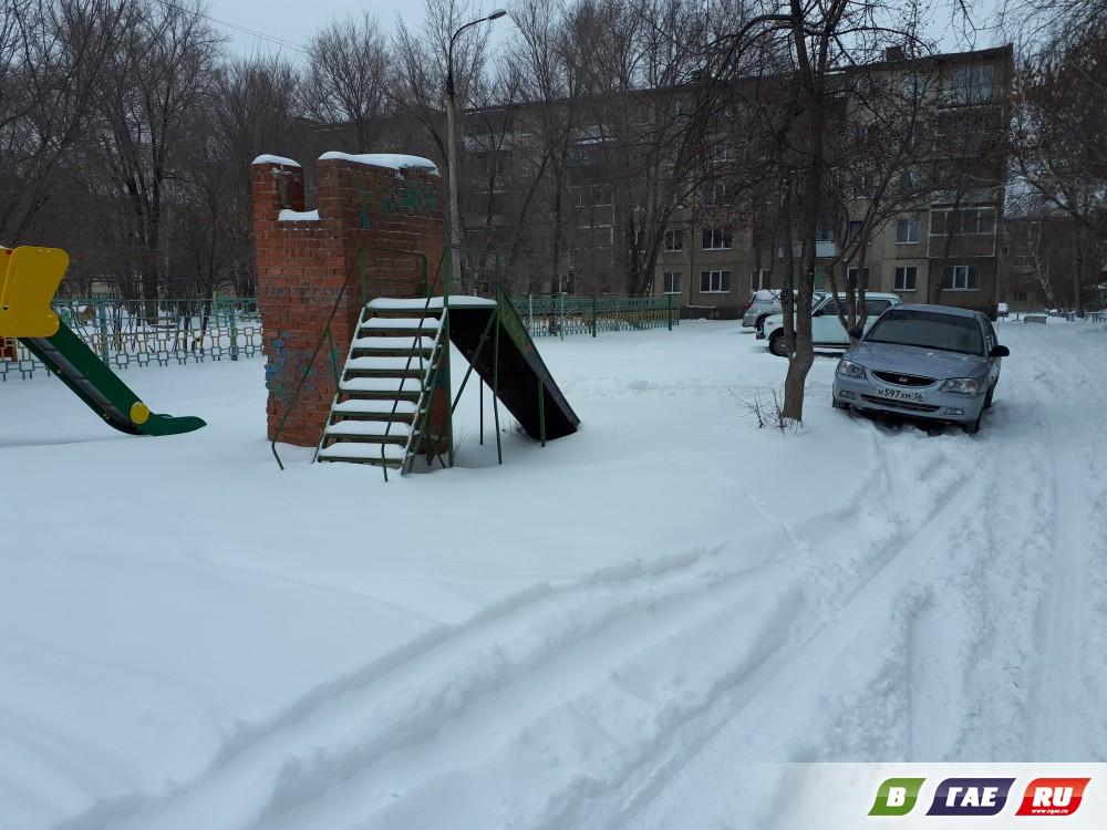 20 марта. Заснеженный Гай. Фотофакт