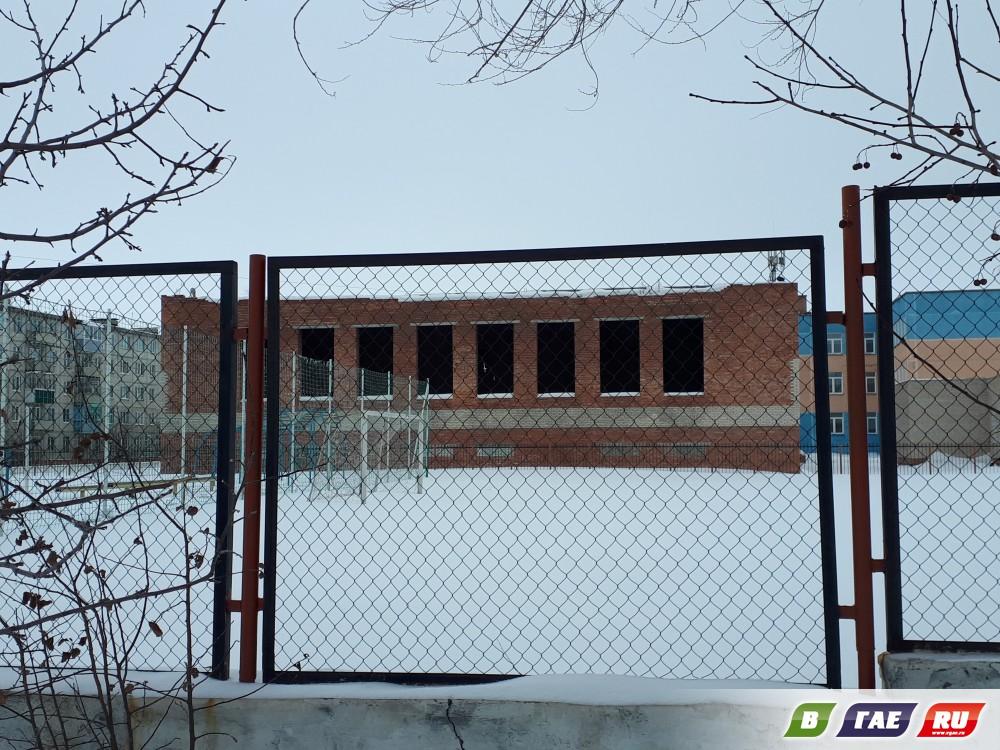 Заброшенная стройка. Бассейн в школе №8