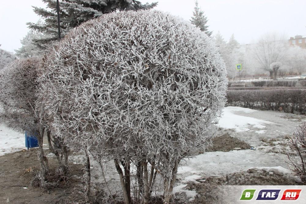 Апрельская шутка: зима возвратилась!