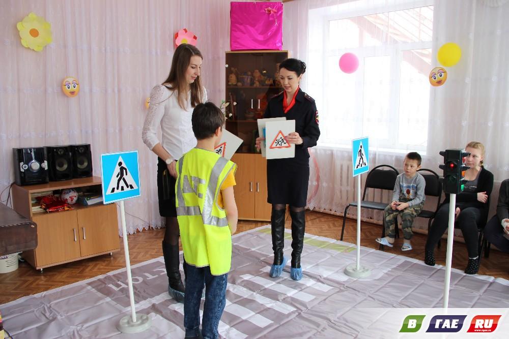 ПДД изучали в автогородке на ул.Молодежной,45